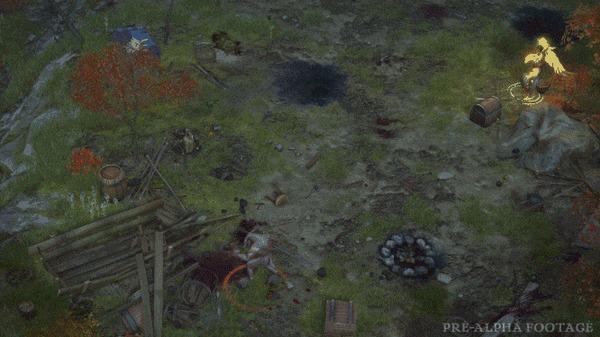 Начался кикстартер игры Pathfinder: Wrath of the Rightous, RPG от российской студии Owlcat Games Pathfinder, Pathfinder: Kingmaker, RPG, Owlcat Games, Kickstarter, Компьютерные игры, Видео, Гифка, Длиннопост