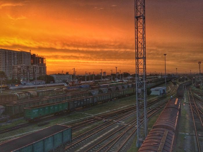 Батайск, сортировочная