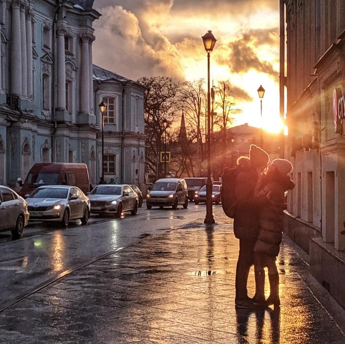 Москва влюблённая