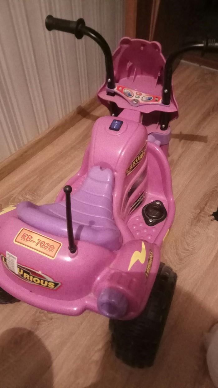 Как я ребенку мотоцикл делал