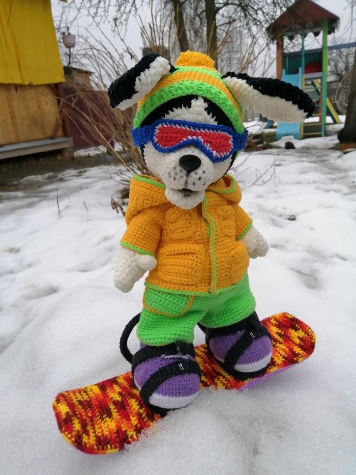 Щенок Сноубордист