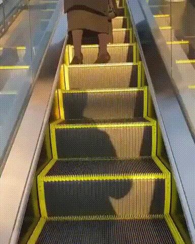 Замечательный эскалатор