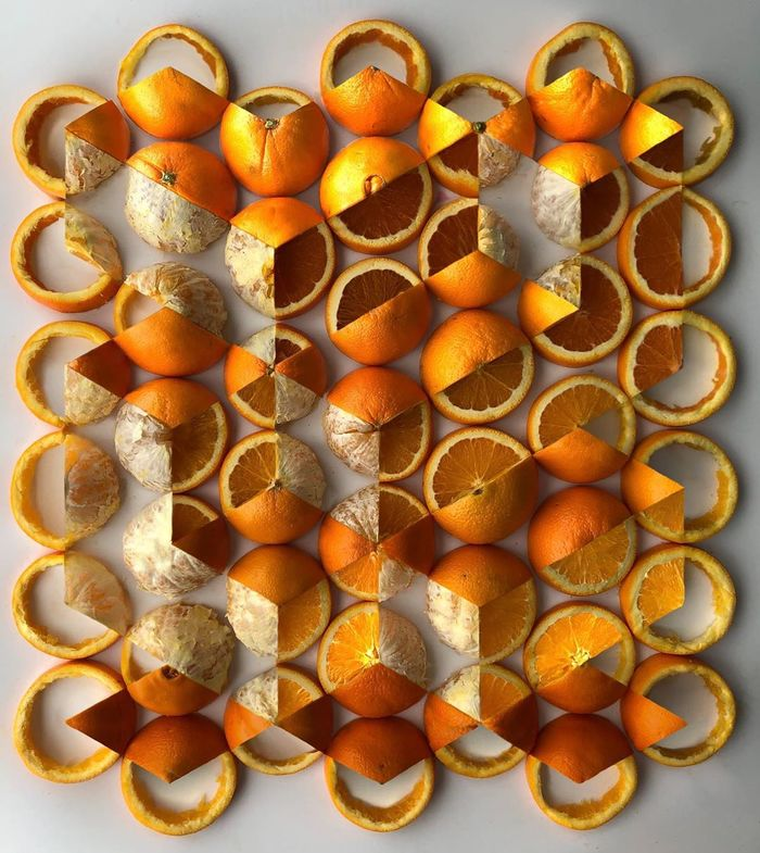QuotГеометрически нарезанные апельсиныquot