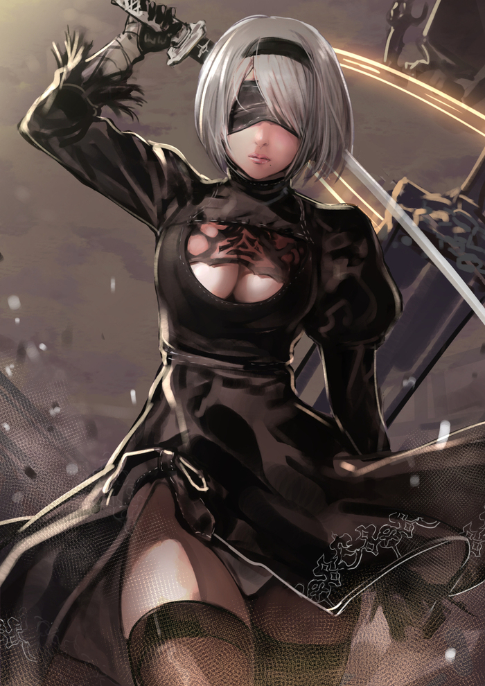 Yorha Type Cosplay Filthy Family 1
