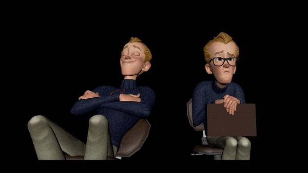 Как создаются 3D мультфильмы Анимация, 3D моделирование, 3D, Мультфильмы, Раскадровка, Концепт-Арт, Видео, Гифка, Длиннопост
