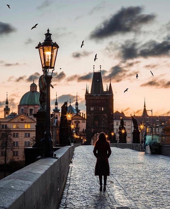 Вечер в Праге