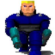 Wolfenstein 3D 1992, Wolfenstein, ID Software, Игры для DOS, Компьютерные игры, Шутер, Ретро-Игры, Нацисты, Гифка, Длиннопост