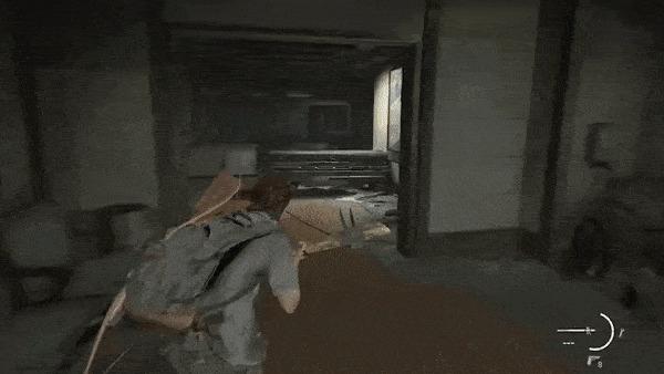 Геймплей The Last of Us Part II — впечатления и наблюдения. Часть 1 Xyz, The Last of Us 2, Playstation 4, Gameplay, Игры, Гифка, Длиннопост