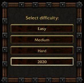Выбор сложности