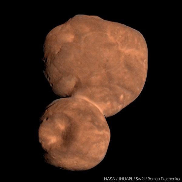 Пролетая Аррокот Космос, Солнечная система, Астрономия, Пояс Койпера, Аррокот, New Horizons, NASA, Twitter, Гифка
