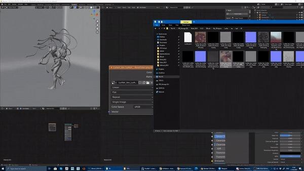 Работа с материалами в Blender часть 1 Xyz, Blender, 3D, Урок, Гайд, 3D моделирование, Substance painter, Гифка, Длиннопост