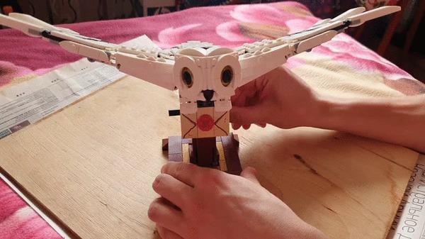 Пополнение в коллекции LEGO, Букля, Гарри Поттер, Гифка, Длиннопост
