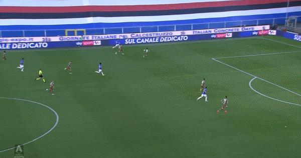 Два потрясающих гола Федерико Бонаццоли за три дня Спорт, Футбол, Серия А, Гол, Бисиклета, Гифка