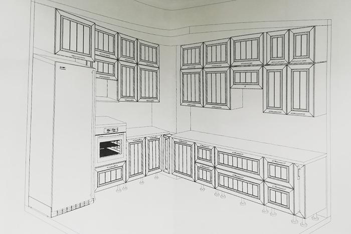 Я самостоятельно сделал дома кухню и сэкономил почти 200 тысяч Кухня, Ремонт, Экономия, Деньги, Проект, Планировка, Длиннопост