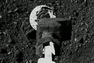 OSIRIS-REx провел финальную репетицию забора грунта с астероида Бенну Космос, Osiris-Rex, NASA, Бенну, Астероид, Космические исследования, Техника, Гифка, Видео