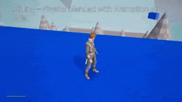 Как работают анимации на основе физики в Star Wars Jedi: Fallen Order Xyz, Gamedev, Star Wars, Star Wars Jedi: Fallen Order, Анимация, Игры, Компьютерные игры, Гифка, Длиннопост
