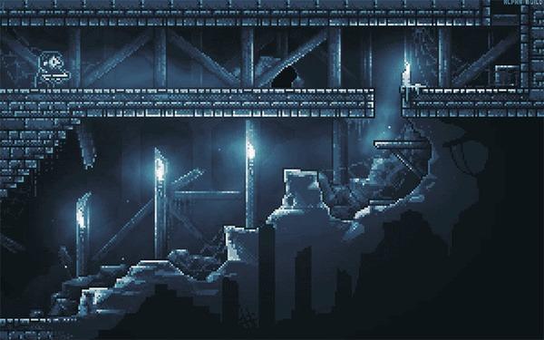 Inmost — как игра менялась за три с лишним года разработки и как устроена сейчас (часть2) Inmost, Gamedev, Pixel Art, Инди, Гифка, Видео, Длиннопост
