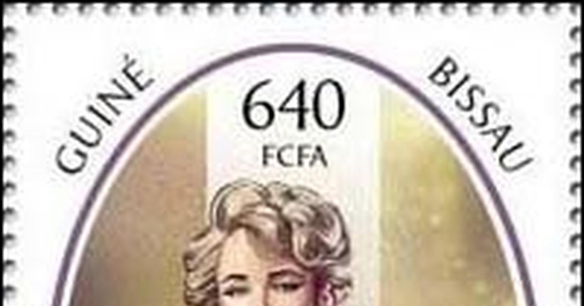ММ на почтовых марках (II) Великолепная Мэрилин 186
