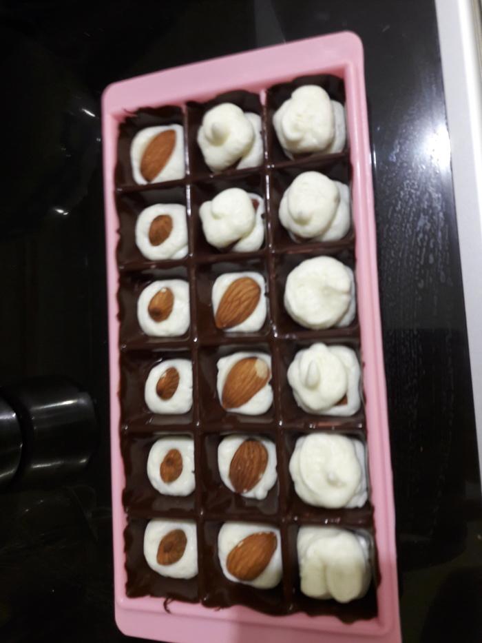 Как затолкать орех в конфету Своими руками, Конфеты, Сладости, Длиннопост