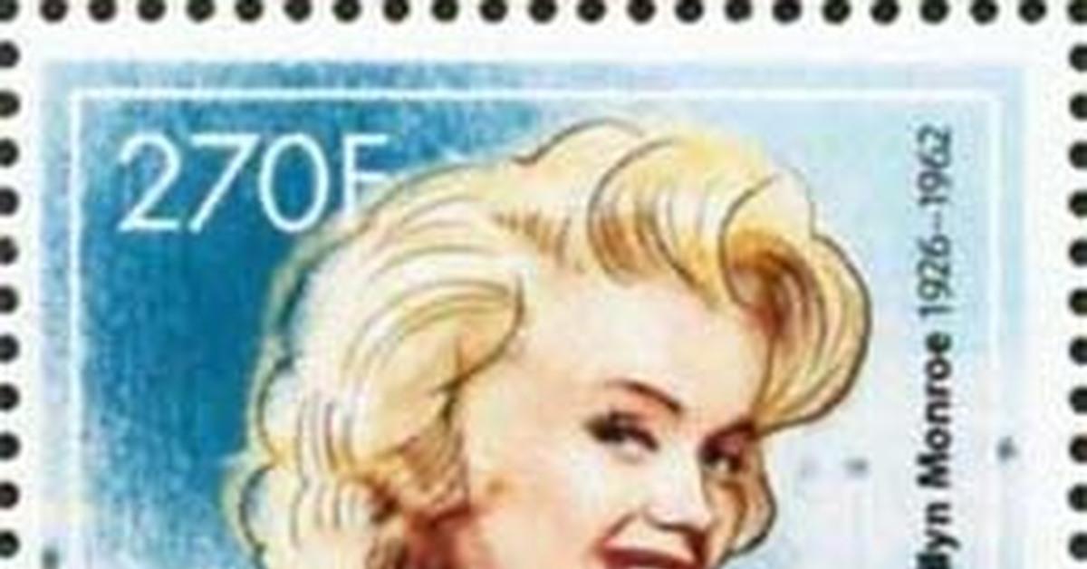 """ММ на почтовых марках (XIX) Цикл """"Великолепная Мэрилин"""" - выпуск 227"""