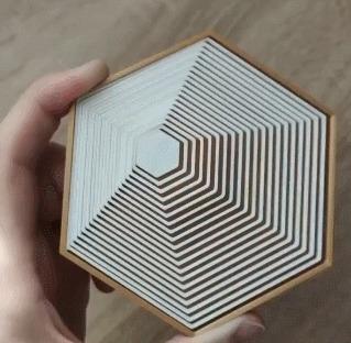 Геометрическая игрушка напечатанная на 3D принтере