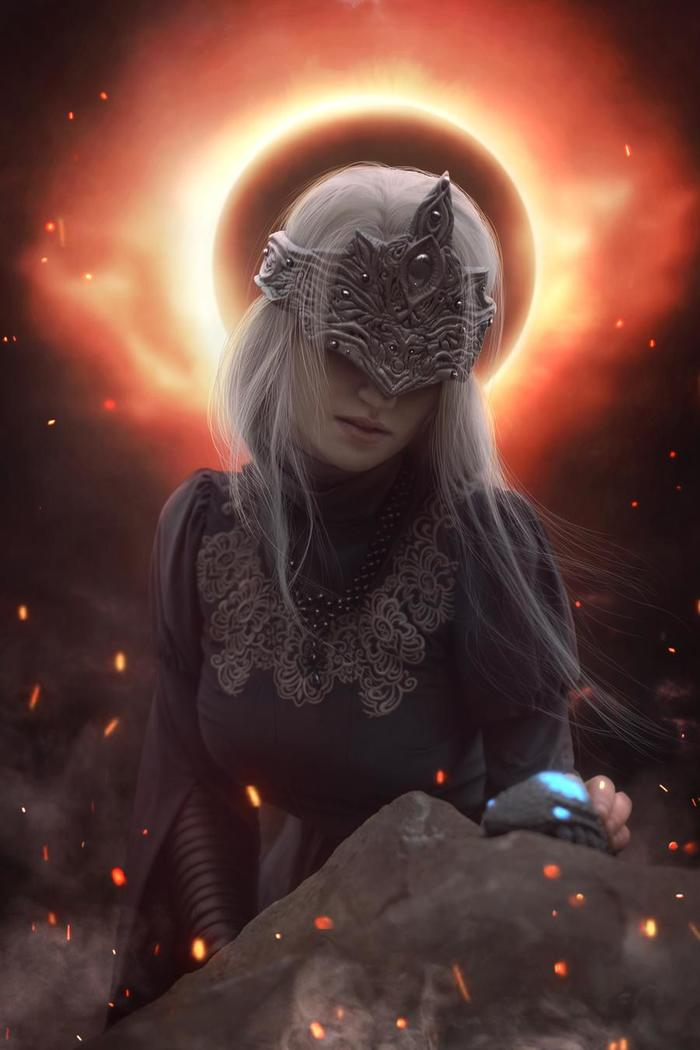 Dark Souls - Fire Keeper by Claire Sea