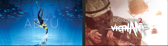 ABZU иRising Storm 2 Vietnam (Epic Games Store)
