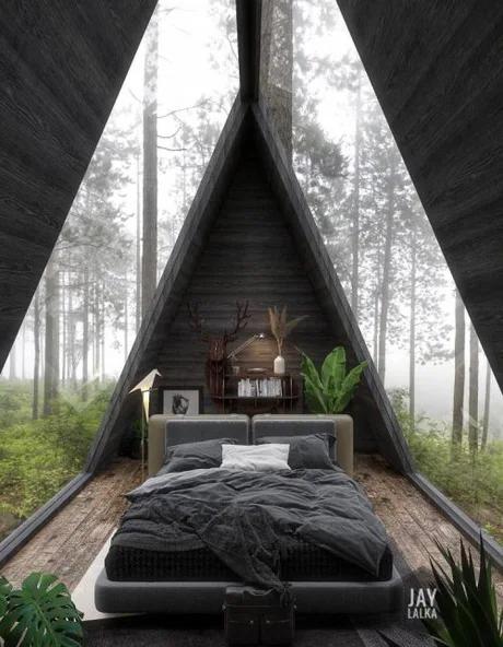 Идеальный домик в лесу!