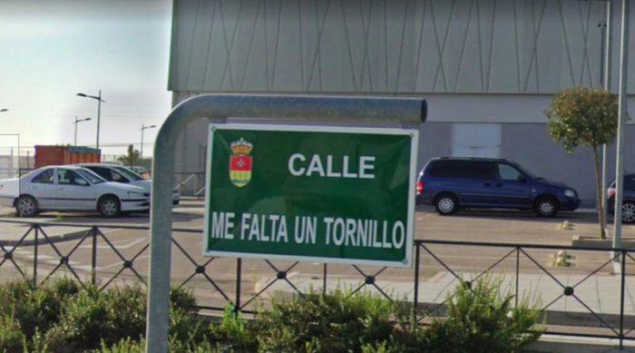 Испанскую улицу, ведущую к IKEA, назвали quotШурупа не хватаетquot