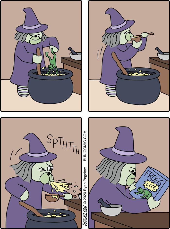 Лягушачий суп