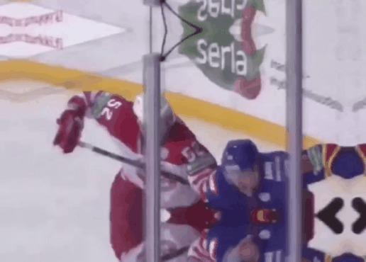 """Такой хоккей нам не нужен!"" © Спорт, Хоккей, КХЛ, Трус, Гифка, Негатив, Мат"