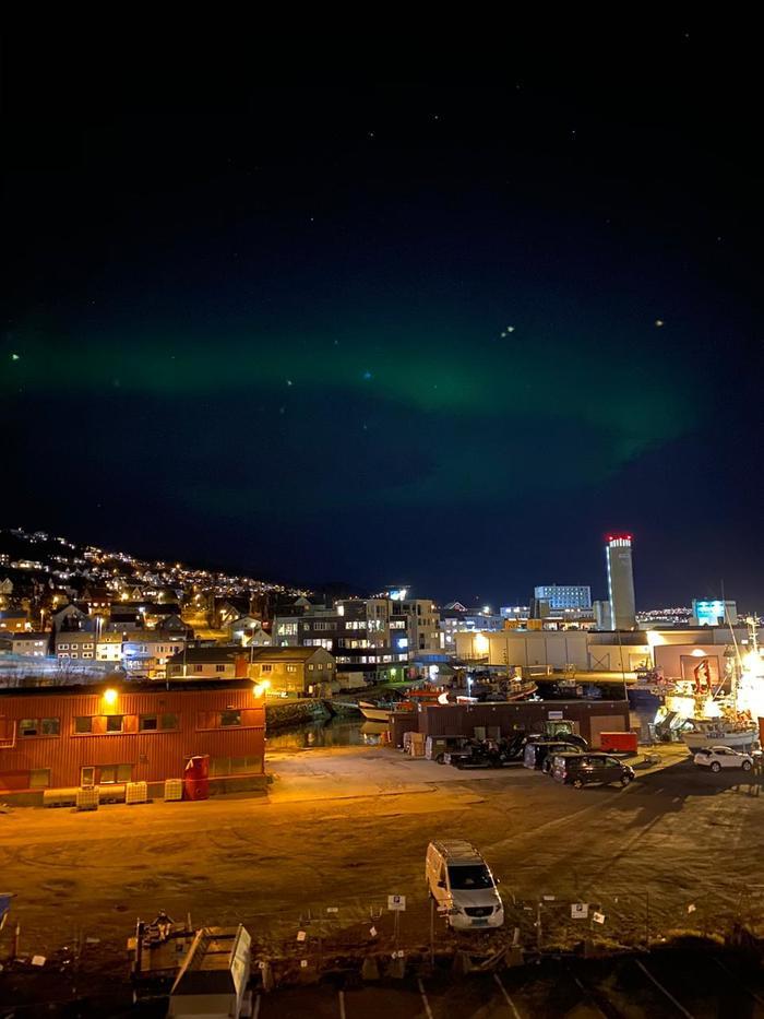 Северное сияние Норвегии