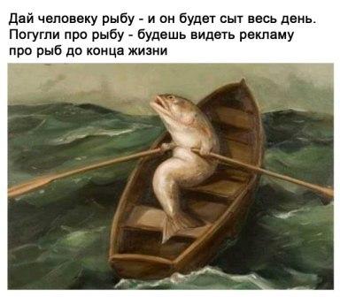 Дай человеку рыбу