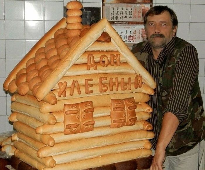 Видели, как появляется хлеб?
