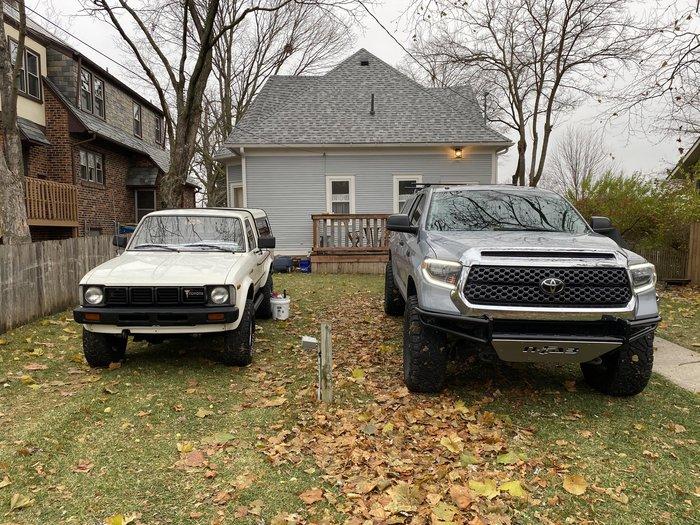 Внучок Авто, Toyota, 80-е, 2000-е, Подрос