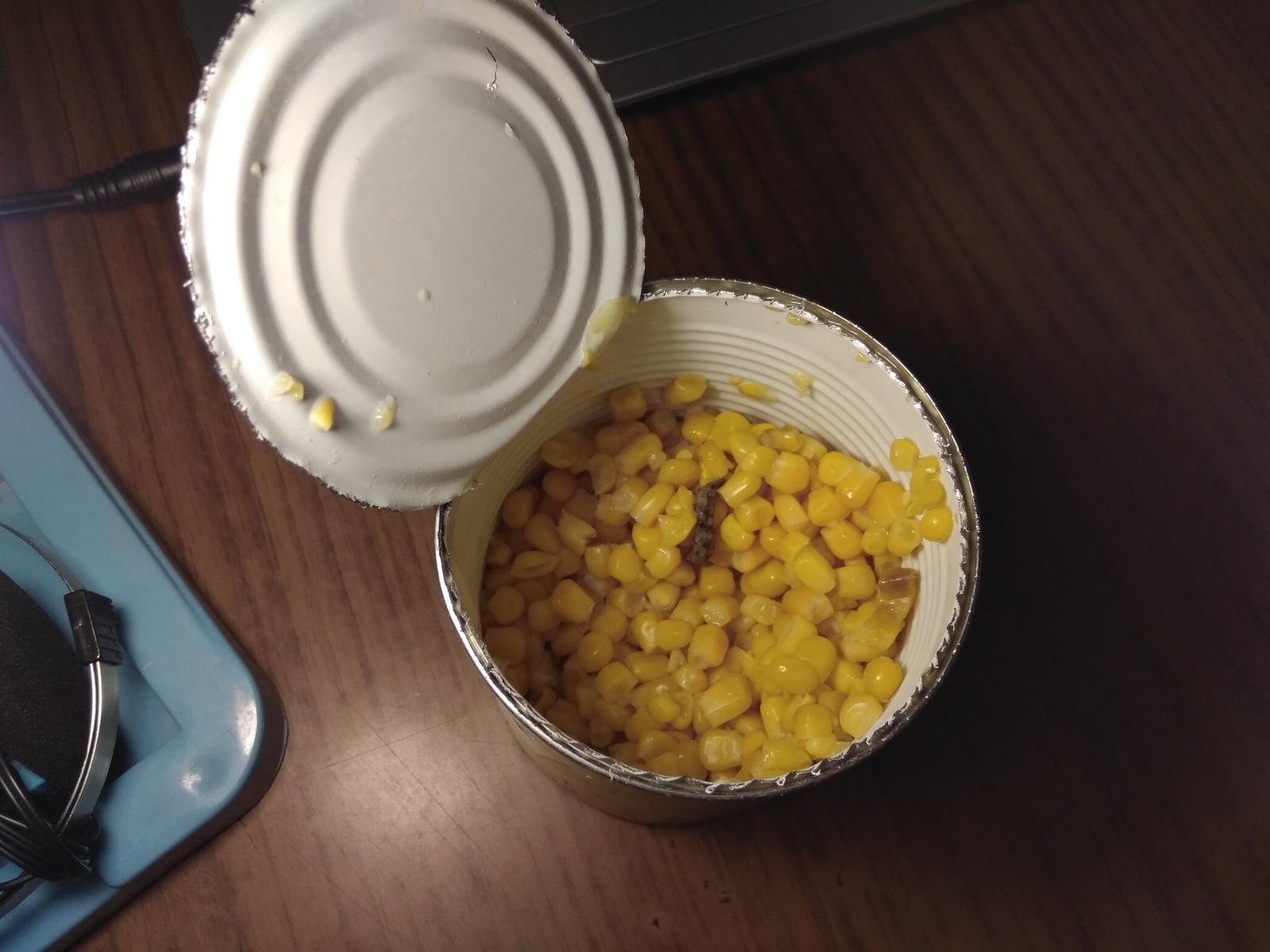 Борщ с кукурузой консервированной
