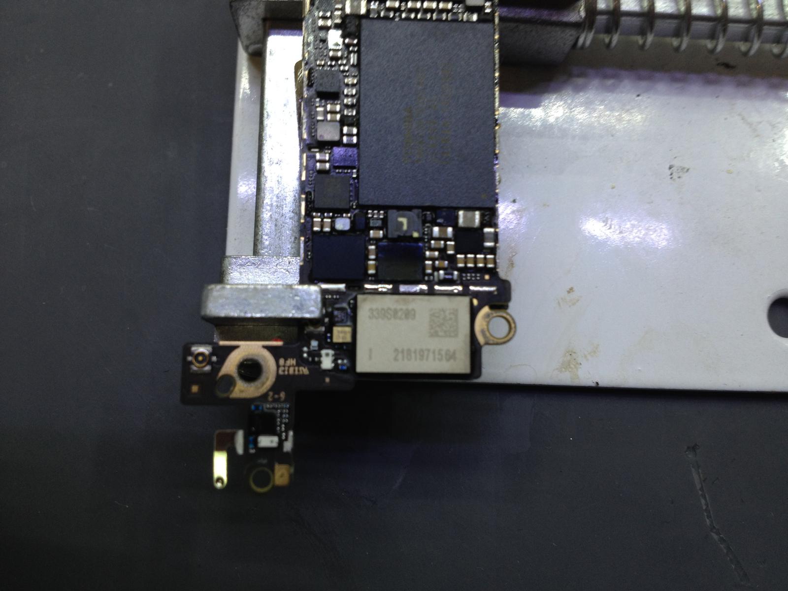 замена тачпада iphone 5c