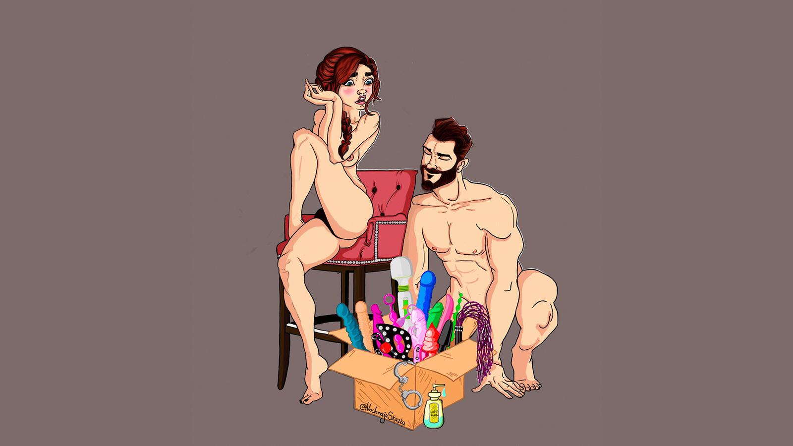 Иллюстрации эротики и секса