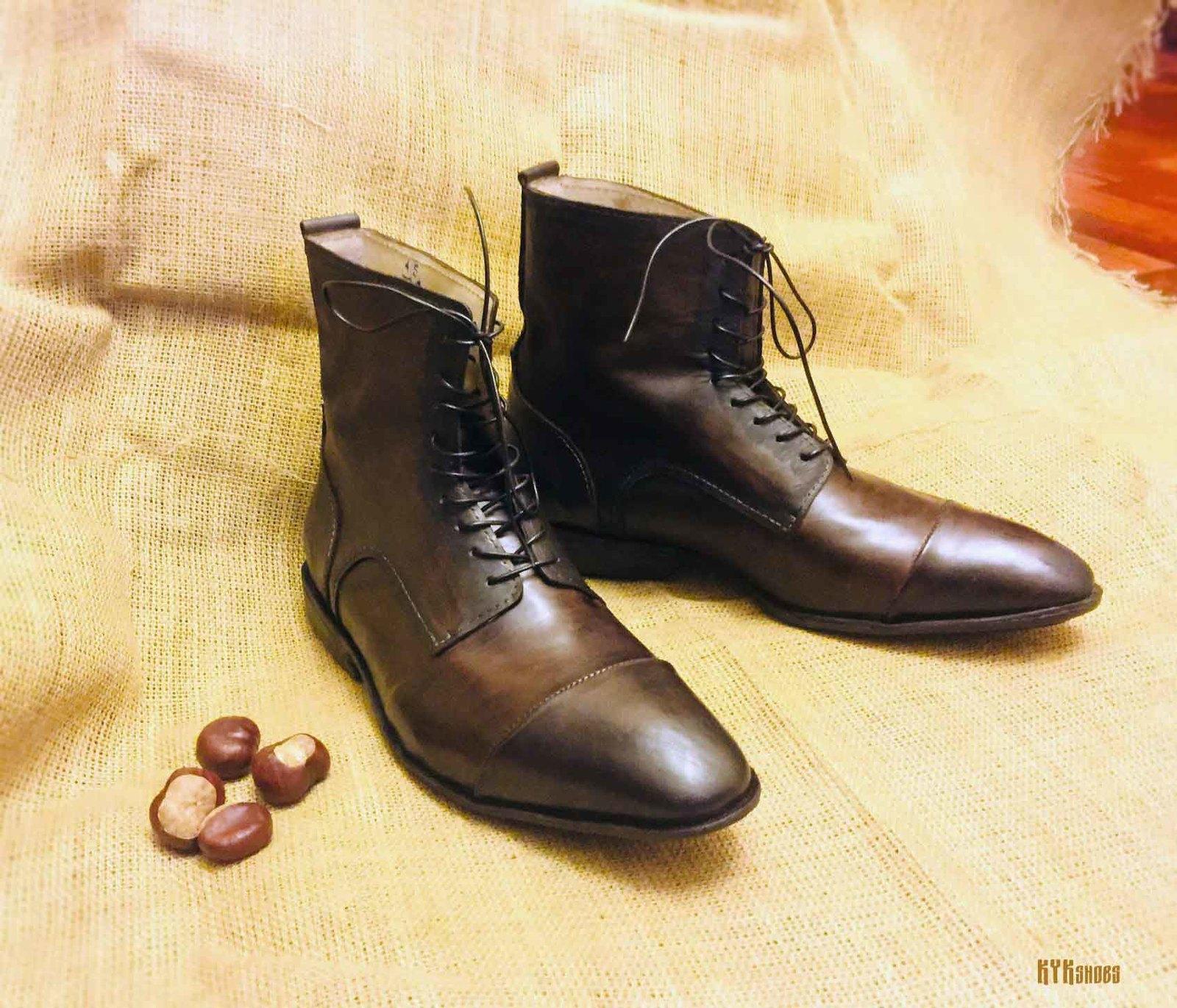 Ботинки своими руками