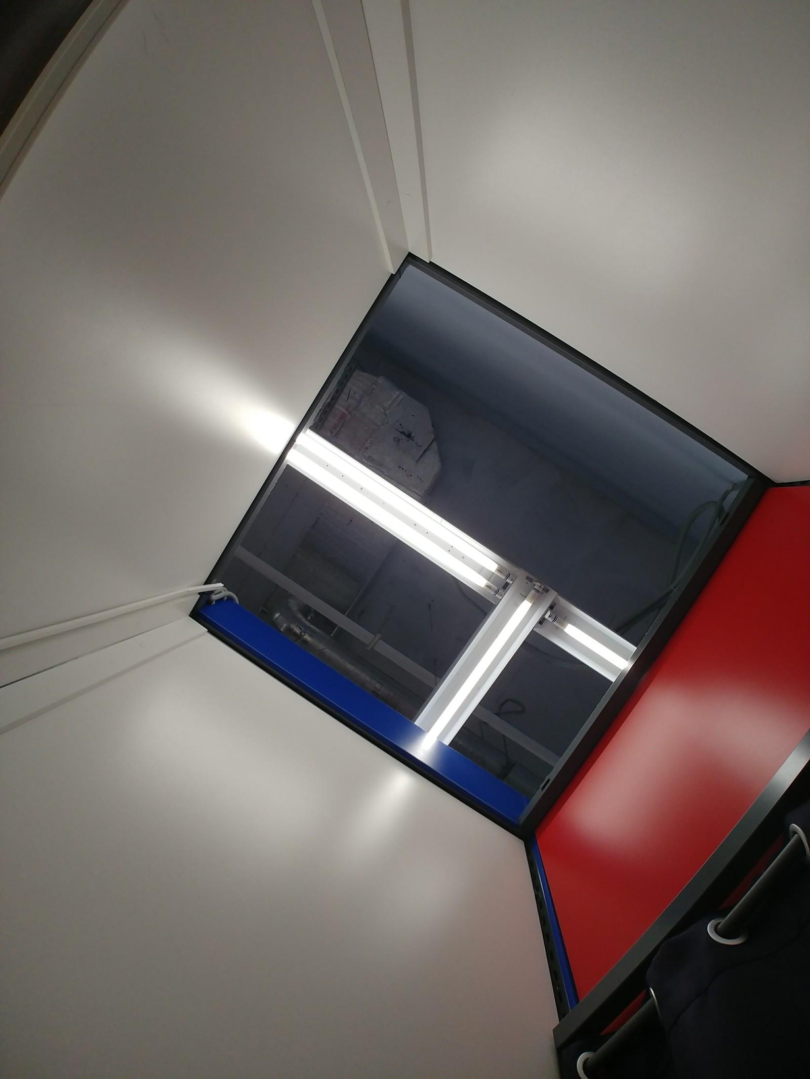Скрытая камера в туалете возле дороги — 11