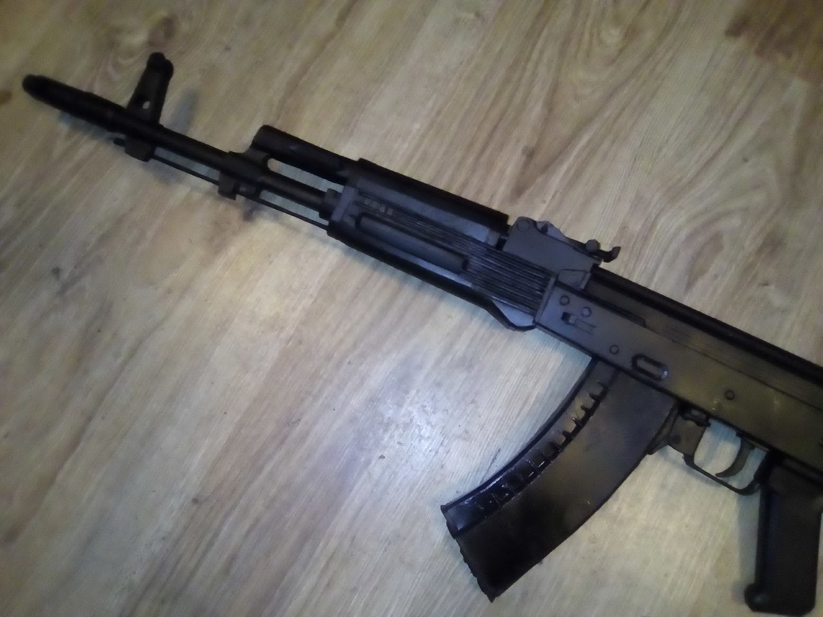АК 74М из бумаги