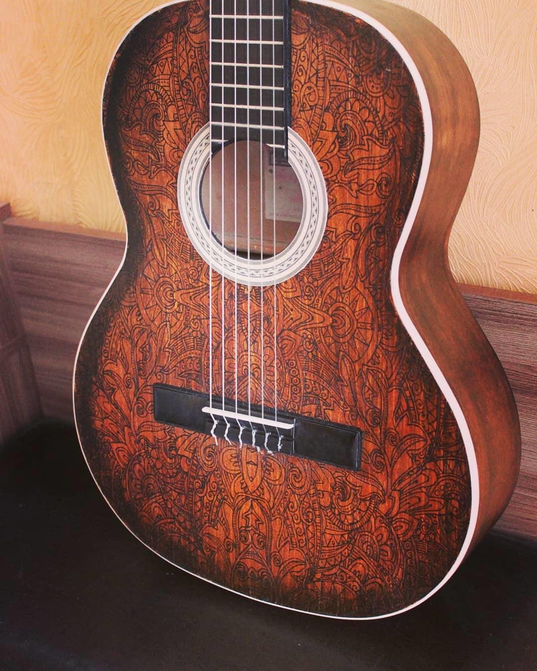 Ремонт гитары своими руками фото 867