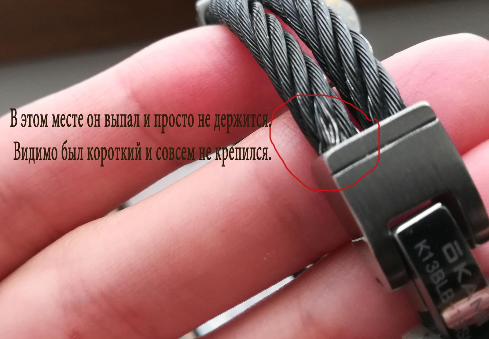 Возврат кабеля в магазин