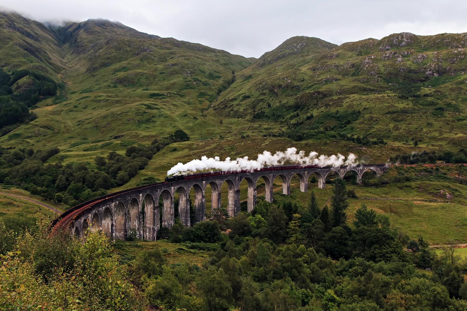 Обои scotland, поезд, forth bridge, вагоны. Разное foto 19