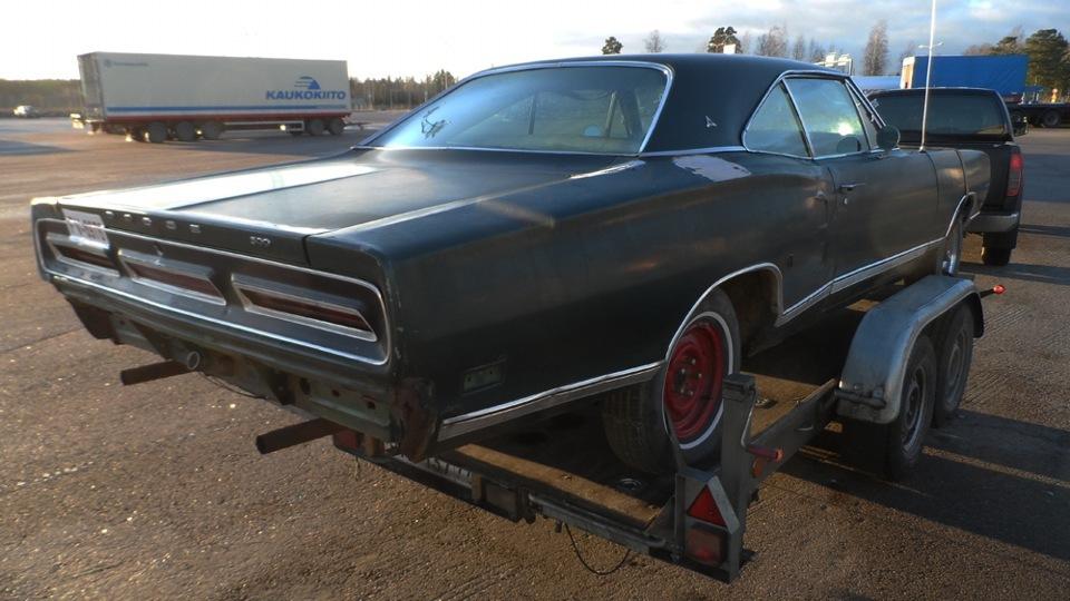 Реставрация Dodge Coronet 500