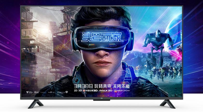 Xiaomi представила 4K-телевизор Mi TV 4S на 55 дюймов за $480