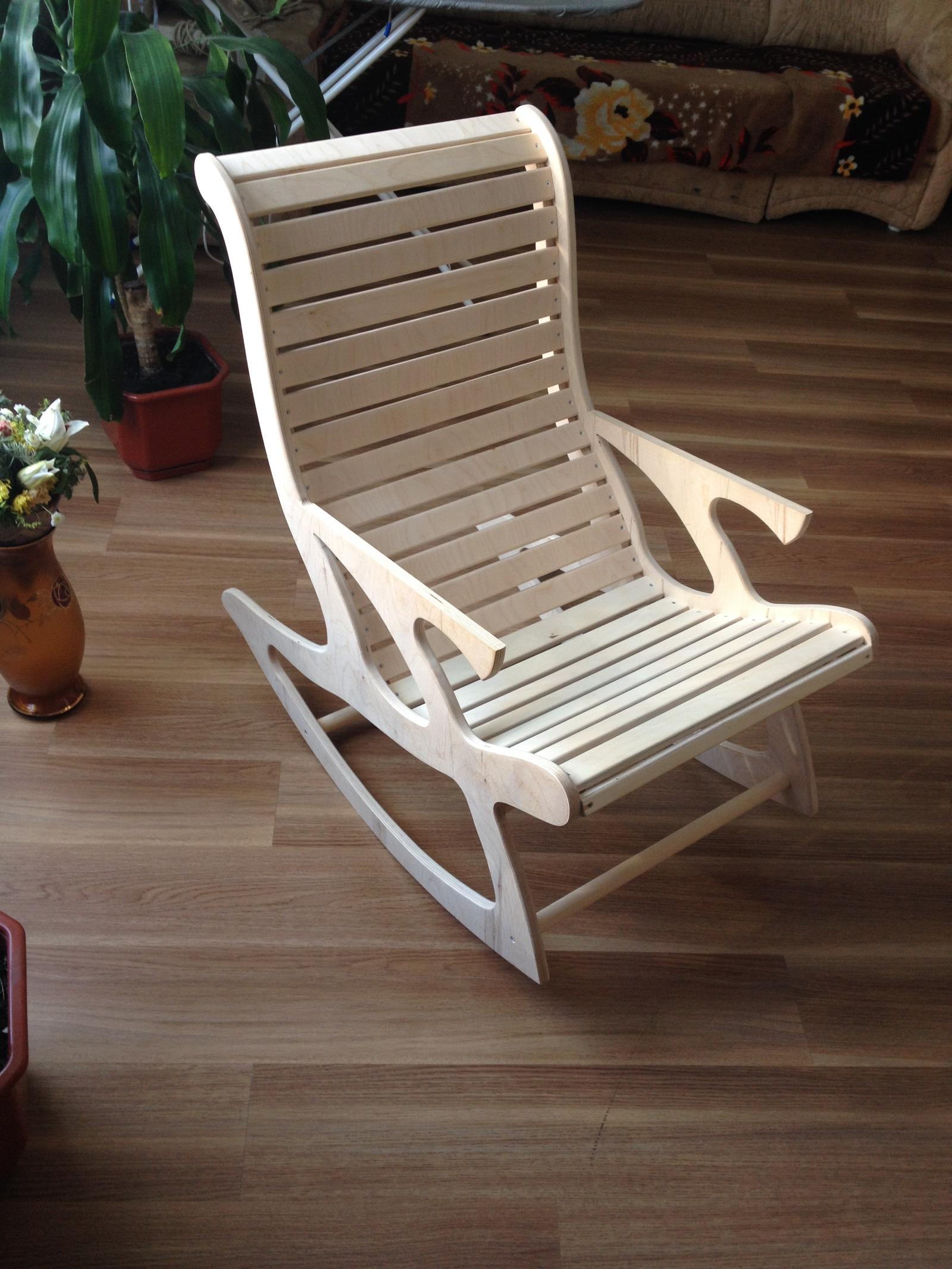 Кресло из фанеры своими руками чертежи фото 628