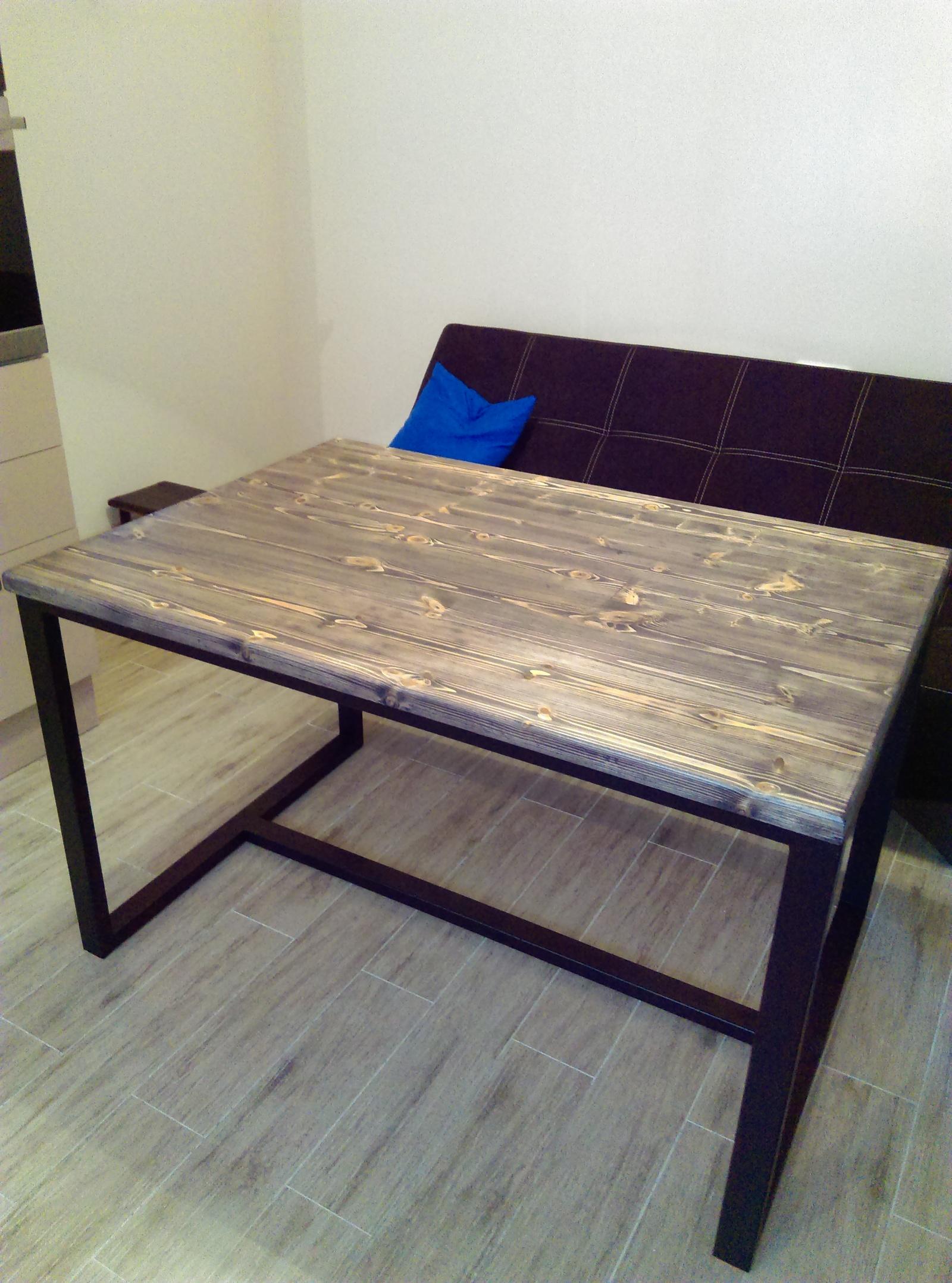 Простой стол своими руками из дерева фото фото 451