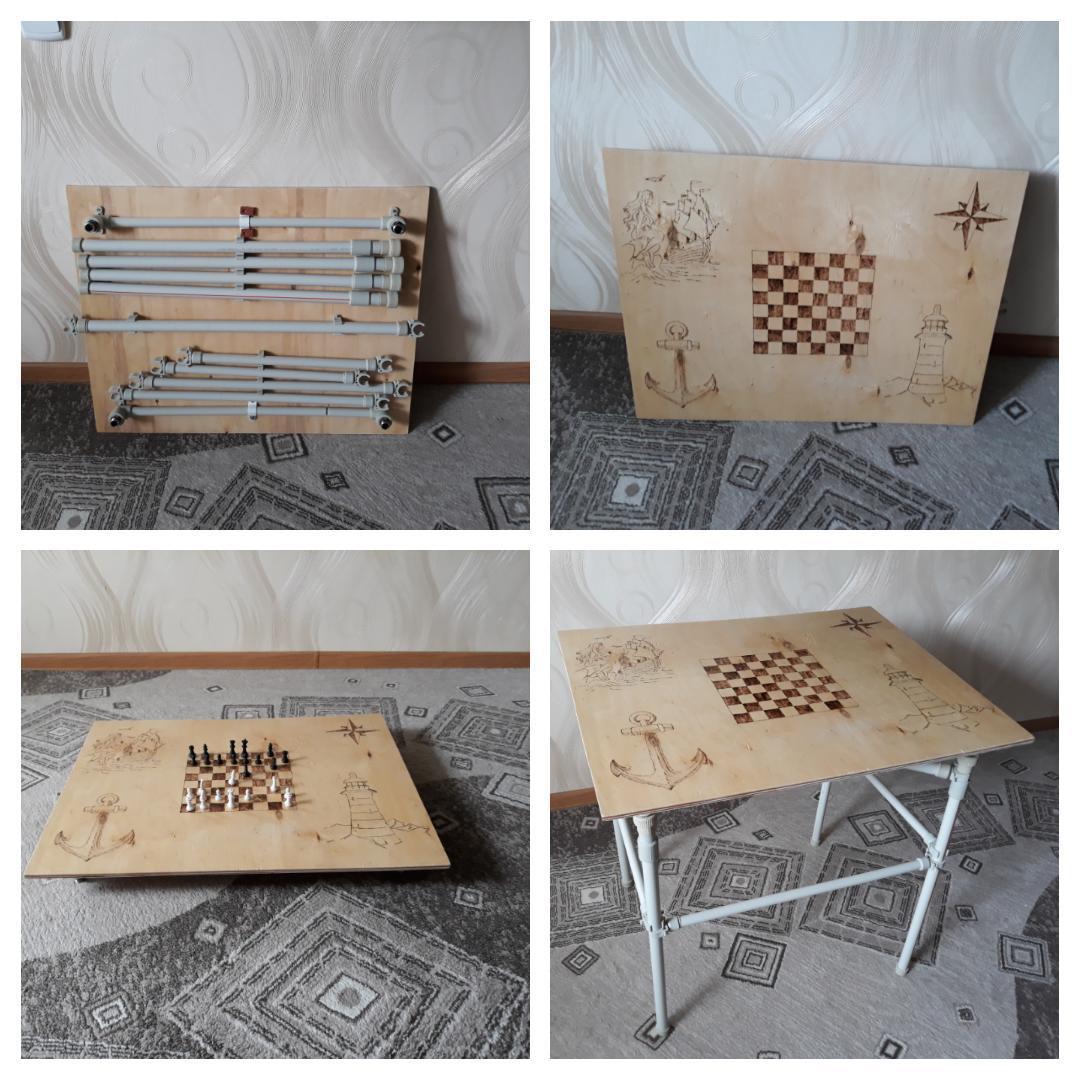 Из чего сделать стол для пикника своими руками