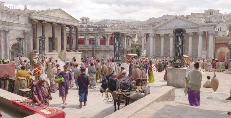 Один день из жизни горожанина в Древнем Риме   Пикабу